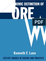 The Economic Definition of Ore