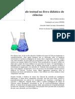 A Diversidade Textual No Livro Didático de Ciências