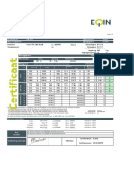 CNC Machine Calibration Formet