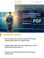 0902 10 Tips for Optimizing the Performance of your SAP BusinessObjects Web Intelligence Reports.pdf
