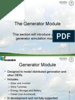 4.4 - Generator Module