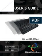 Hitron CDE 30364 Users Guide
