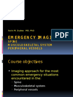 Emergency Imaging Course 3 Spine MSK Vessels Noimag