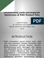Orchiectomy Pada Penanganan Seminoma