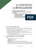 17_1 Il CONCETTO di RIVELAZIONE