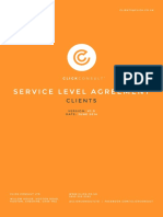 Click Consult Service Level Agreement