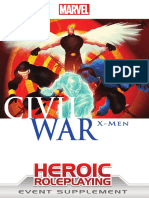 Marvel Heroic RPG - Civil War - X-Men