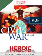 Marvel Heroic RPG - Civil War - X-Men