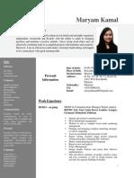 RESUME CV SAMPLE FOR WRITERS