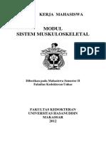 Modul Mahasiswa Sistem Muskuloskeletal 2012