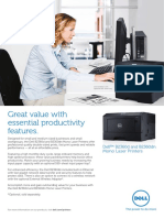 Dell Printer b2360dn Brochure
