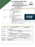 3 Jadwal Acara - Survei Akreditasi Program Khusus RSIA Cinta Kasih Tangerang Selatan