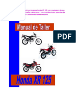 Honda Xr 125 Manual de Taller