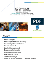 ASQ Changes to 9001-2015