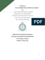Design Report of STOL transport aircraft