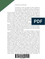 Rol 87-2016 Despido Injustificado Pangui. Corte