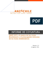160824 Informe de Coyuntura La Caída de Los Liceos Emblemáticos