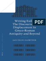 [Gaertner, J. F. (Ed.)] Writing Exile the Discour