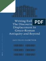 [Gaertner, J. F. (Ed.)] Writing Exile the Discour
