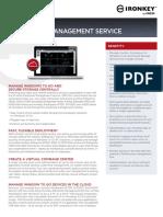 IronKey Enterprise Management Service DataSheet