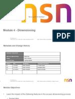 Module 4 - V7-Dimensioning
