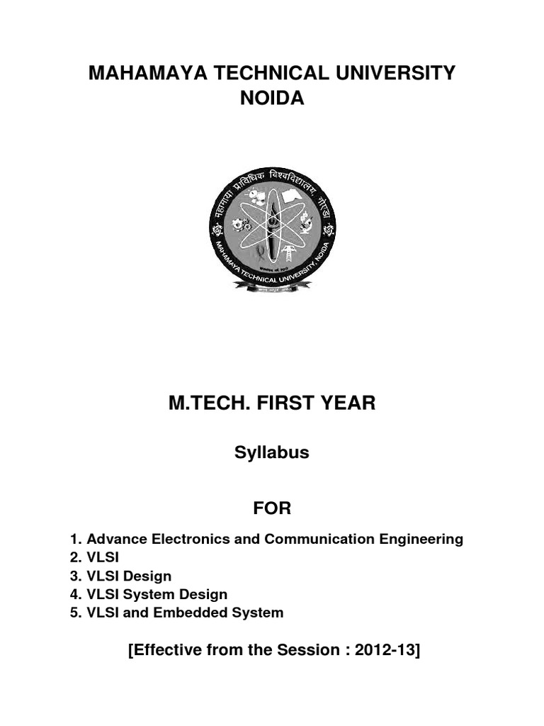 M Tech Syllabus For Vlsi Mosfet Semiconductors