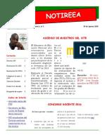 Boletín Informativo - REEA No 1