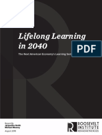 Lifelong Learning in 2040