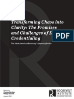 The Promises and Challenges of Digital Credentialing
