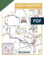 Santa Rosa Marathon race course