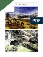 1 Caracteristicas Del Territorio Peruano Durante El Pleistoceno y El Holoceno