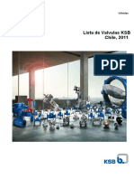 Catalogo 2011 Valves KSB