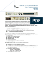 CDM-625 Product Bulletin