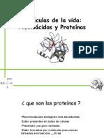 Clase 1 Funciones de Las Proteinas.