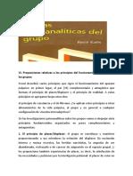 Principios Del Funcionamiento Psíquico en Los Grupos Rene Kaes.