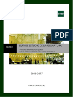 Guia Historia Del Derecho 2016-2017