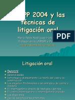 CPP.2004 TECNICAS DE LITIGACION.ppt
