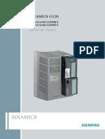 SINAMICS G120 CU240B E 2 Control Units List Manual A6V10423925 Hq En