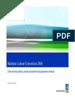 Maritime Labour Convention 2006 - DNV PPT