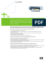 Tecnical Specifications Designjet 100 Plus