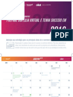 Calendario Do e Commerce 2016
