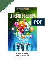 Collectif-Je Débute en Blogging - Tome 1-Copywriting Pratique (2012)
