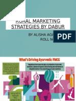 Rural Marketing Strategies by Dabur
