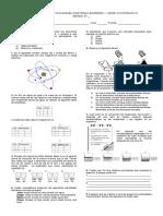 Evaluacion quimica 8°