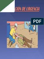 Evaluacion de Urgencia. SECUNDARIO (Silla)