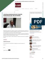 25-08-16 Continua renovación de Comités Municipales del PRI en Sonora