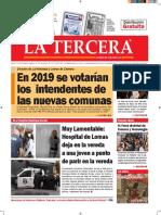 Diario La Tercera 30.08.2016
