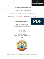 Mohit Soni Report