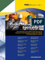 PM Bootcamp 2011S Web