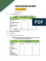 Esquema de estudio de mercado para distintos proyectos de inversion